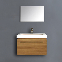 Waterproof High End Ikea MDF Modern Bathroom Furniture