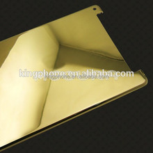 Luxury 24k gold for iPad mini 3 gold back cover, gold housing for iPad mini 3