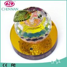2015 Hot Sale Crystal Craft Gift Mix Color Wholesale Crystal Ornament
