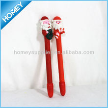 polymer clay christmas pen for promotion
