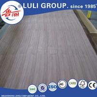 Hot sale! Lowest Price Wood Grain Colored MDF Sheets, Walnut / Oak / Teak Veneer Laminated MDF Sheets