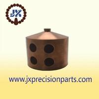 Conducting switch to pieces Wear bushing brass CNC machining precision custom parts