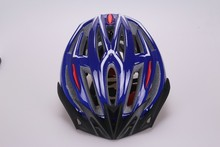 2015 cheap price PC in-mold bike helmet (get 18 air vents) with famous adjustor