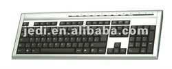 Wired multimedia Keyboard with Full Layout