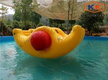 factory inflatable seesaw inflatable water totter toys for adult