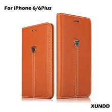 For iPhone Case,Genuine Leather Wallet Case For iPhone 6