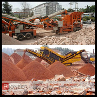 waste construction recycling plant