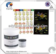 impresión de la pantalla de tinta barniz UV
