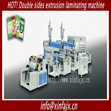 Automatic Dual Fully automatic extrusion Laminating machine for plastic-woven bags