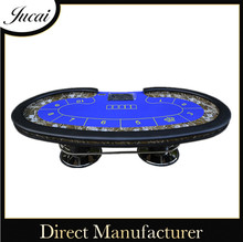 Professional gaming table for casino poker game