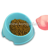 Round dog bowl/pet feeders/pet bowl FS002