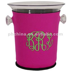 AWB-272 Round Acrylic Ice Bucket/Perspex Ice Bucket/ Acrylic Wine Cooler
