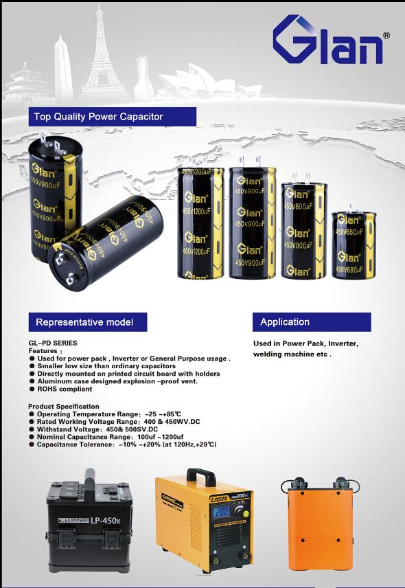 470mfd 450volts motor capacitor 5000hours 105degree aluminum E-caps