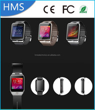 HMS Newest Arrival High Definition Bluetooth LCD Touch Screen Smart Watch V8