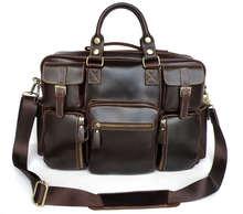 Hot Sale JMD Brand Genuine Cow Leather Mens Handbags Wholesale # 7028Q