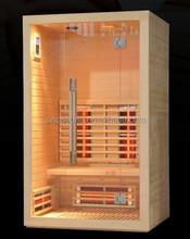 New Arriving 2 Person Solar Slim Ful Spectrum Infrared Sauna Cabin (CE/ROHS/ETL/TUV)