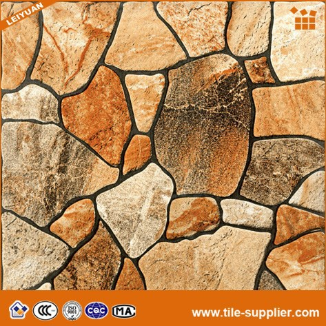 Anti slip ceramic tiles