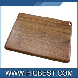 Bamboo Wooden Case for ipad Air Walnut Wooden Case Customized logo