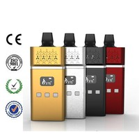 MSTCIG VS2 Rubber Penis Hot Refillable E-cigarette Adjustable Voltage Battery Rebuildable Wax Vaporizer Pen