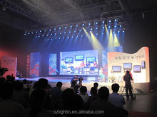 Long life led curtain for stage backdrops p5 indoor full color led sign