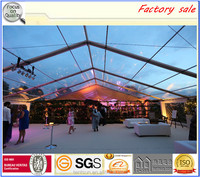 Clear roof 20x30m transparent tent for wedding party and events
