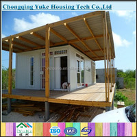 2015 newest luxury comfortable prefab patio for sale