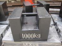 500kg 1000kg cast iron counter weight, weight set