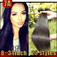 Factory Direct 24 Inch Grade 7A Hair Weave Cambodian Straight Hair