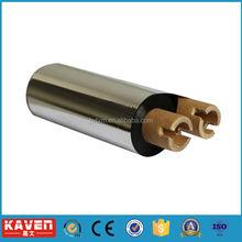 High quality gold edge satin ribbon, elastic satin ribbon, red ribbon for printing