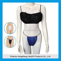 hot sex women's sport bra,disposable nonwoven bra,disposable bra
