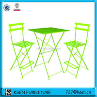 restaurant cafe bistro high table and chair sets KC-TC96