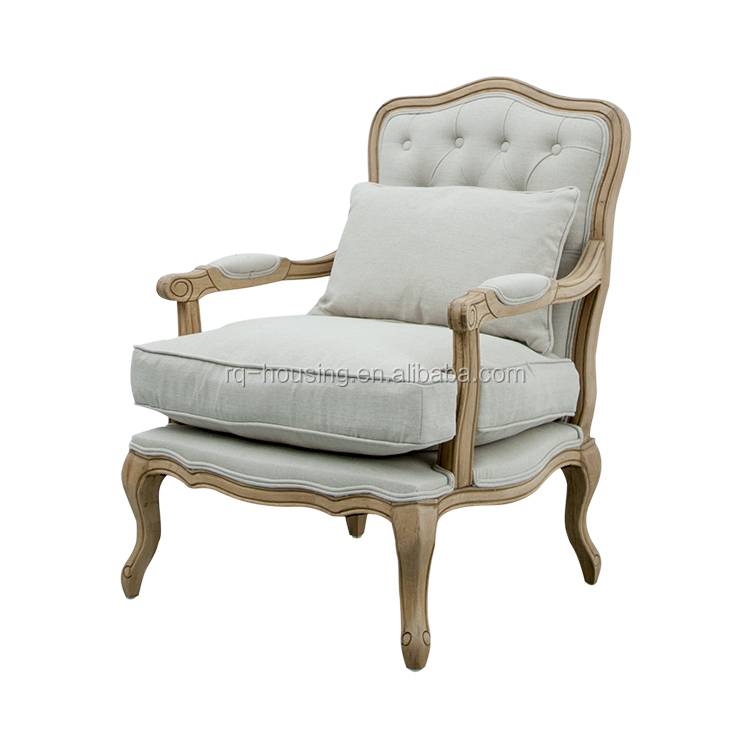 Classic French Style Leisure Chair Of Waiting Room Chairs