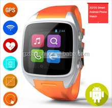 hot sale 3G android watch phone,bluetooth phone watch,smart watch