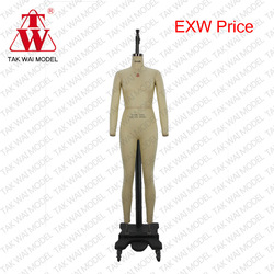 Adjustable flexible foam mannequins for tailor from Hong Kong