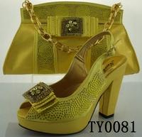 shoes women wedding shoes italian and bag set yellow matching shoe and bag