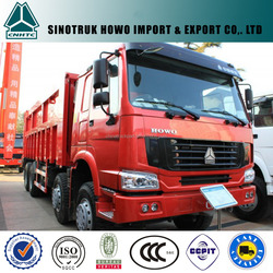 HOWO 2015 hot selling 8x4 SINOTRUK dumper made in china