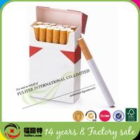 High quality Empty Custom Paper Cigarette Pack