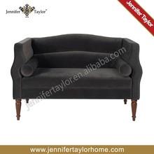 Europe velvet antique style living room furniture sofa from Hangzhou