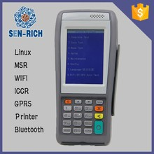 Professional Barcode Scanner Handheld Terminal POS Android wifi/3g