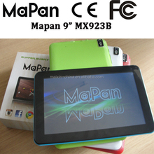 3.7V/3500MAH 3 hours video time good lipo battery 2015 Cheap Price 9 inch pc tablets with touch pen