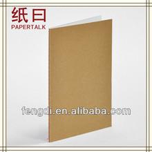 kraft cubierta simple diseño de papelería para escribir japonés