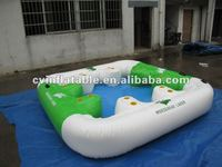 inflatable island float factory,inflatable ice island,inflatable floating island