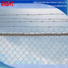 Quality Products Cheap Garden Used 5 Foot Galvanized and PVC Chain Link Fence