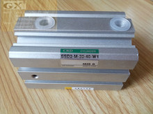 CKD compact cylinder Double acting non-rotating type with switch SSD2-M-32-40-W1