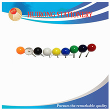 2015 hot selling decorative map pin, bright color fancy ball point pin