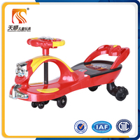 wholesale EN71 new PP children plasma car / kids twist car / baby swing car