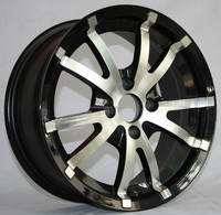 three pieces alloy wheels from wheel rim china factory