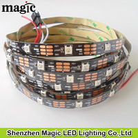 5m WS2812B Black PCB 30leds/pixels/m Black led pixel strip,adressable,non-waterproof,DC5V