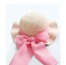 infant straw hat sombrero summer beach sun hat for children kids