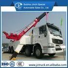 8 X 4 heavy pendurar acoplamento estrada guincho caminhão heavy duty caminhão de reboque SINO HOWO